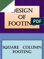 Design of Footing