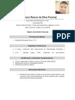 Curriculum Anderson