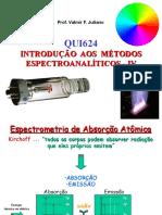 Espectroanalitica - Absorcao Atomica.pps