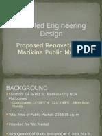 Detailed Engineering Design of Marikina Public Market