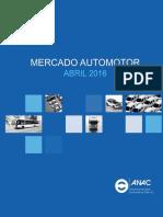 04 - ANAC - Mercado Automotor Abril 2016