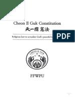 Cheon Il Guk Constitution