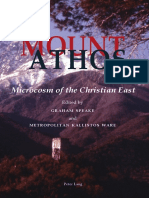 Graham Speake (Ed) - Mount Athos - Microcosm of the Christian East.pdf