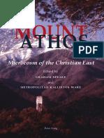 Graham Speake (Ed) - Mount Athos - Microcosm of the Christian East.pdf