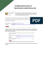 Manual de Configuración Para El Uso Del Cliente