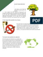 31 de Mayo Día del Árbol y Semana de la Conservación de los Recursos Naturales Renovables.docx