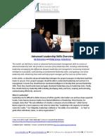 Advanced Leadership Skills Overview