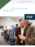 Cisco CloudCenter Solution-Multitenancy
