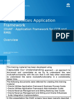 OUAF - Application Framework for CCB and RMB - Overview Part 1 of 3