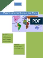 Major Economic Blocs of the World.docx
