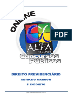 8.Direito Previdenciario Adriano Marcon 8 Encontro
