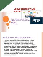 Los Adolecentes y Las Redes Sociales