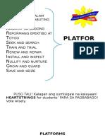 SSG Platforms