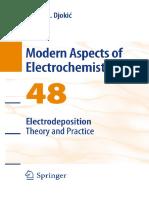 Electrodeposition_ Theory and Practice-(Modern Aspects of Electrochemistry 48) Nebojša D. Nikolić, Konstantin I. Popov (auth.), Stojan S. Djokic (eds.)-Springer-Verlag New York (2010).pdf