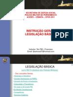 Cargos, Funçoes, Hierarquia e Disciplina da PMPE