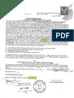 Satepen Ra El Bail and Discharge Bond Atu Da Anu 1-1ABA Filed CC