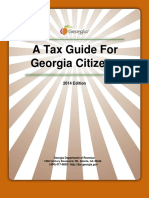 3-26-15 a Tax Guide for Georgia Citizens 2014 Edition 2
