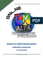 2.Direito Previdenciario Adriano Marcon 2 Encontro
