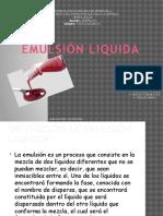 EMULSIONES LIQUIDA_ FISICOQUIMICA