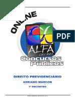 1.Direito Previdenciario Adriano Marcon 1 Encontro