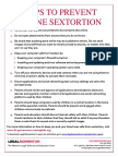 9 Tips to Prevent Cyber-Sextortion