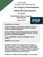 United States v. Segien, 114 F.3d 1014, 10th Cir. (1997)