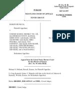 Munguia v. School District 328, 125 F.3d 1353, 10th Cir. (1997)