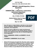 Okland Oil Company v. Conoco Inc., 144 F.3d 1308, 10th Cir. (1998)