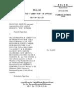 Hopkins v. Oklahoma Public Empl, 10th Cir. (1998)