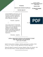 Hawkins v. City/County Denver, 10th Cir. (1999)