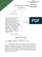 Wood v. Utah Board of Pardons & Parole, 10th Cir. (2010)
