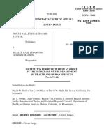 South Valley Health v. HCFA, 223 F.3d 1221, 10th Cir. (2000)