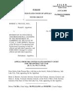 Weitzel v. Div. of Occupational, 240 F.3d 871, 10th Cir. (2001)