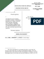 McNally v. CO State Patrol, 10th Cir. (2001)