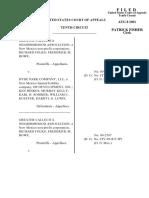 Greater Callecita v. Hyde Park Company, 10th Cir. (2001)
