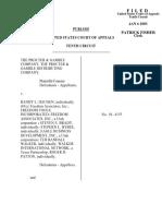 Procter & Gamble v. Haugen, 317 F.3d 1121, 10th Cir. (2003)