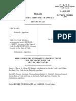 Ward v. State of Utah, 321 F.3d 1263, 10th Cir. (2003)