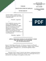 Exxon Mobil Corp. v. Babbitt, 346 F.3d 1244, 10th Cir. (2003)