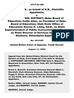 L.B. v. Nebo School District, 379 F.3d 966, 10th Cir. (2004)