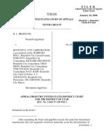 Brereton v. Bountiful City Corp., 434 F.3d 1213, 10th Cir. (2006)