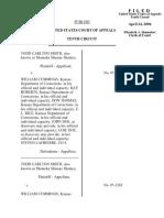Smith v. Cummings, 445 F.3d 1254, 10th Cir. (2006)