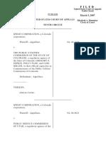 Qwest Corporation v. Public Utilities CO, 479 F.3d 1184, 10th Cir. (2007)
