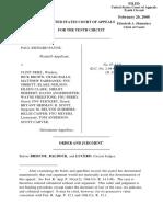Payne v. Friel, 10th Cir. (2008)