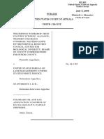 Wilderness Workshop v. United States Bureau of Land Management, 531 F.3d 1220, 10th Cir. (2008)