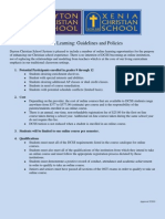 Guidelines and Policies for Online Course Work PDF