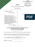 Sarkar v. McCallin, 636 F.3d 572, 10th Cir. (2011)