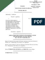 Lobato v. State of NM Environment Dept., 10th Cir. (2013)