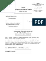 Grosvenor v. Qwest Corporation, 10th Cir. (2013)