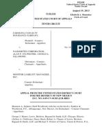 Carolina Casualty Insurance v. Nanodetex Corporation, 10th Cir. (2013)
