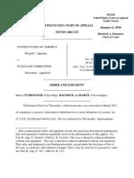 United States v. Turrentine, 10th Cir. (2016)